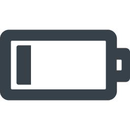 電池 バッテリーのアイコン素材 残りわずか 商用可の無料 フリー のアイコン素材をダウンロードできるサイト Icon Rainbow