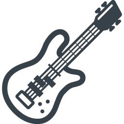 エレキギターの無料アイコン素材 1 商用可の無料 フリー のアイコン素材をダウンロードできるサイト Icon Rainbow