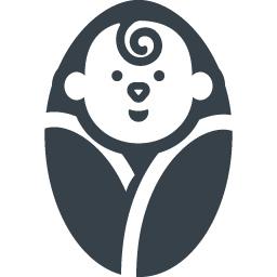 毛布にくるまった赤ちゃんの無料アイコン 1 商用可の無料 フリー のアイコン素材をダウンロードできるサイト Icon Rainbow