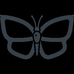 蝶の無料アイコン素材 8 商用可の無料 フリー のアイコン素材をダウンロードできるサイト Icon Rainbow
