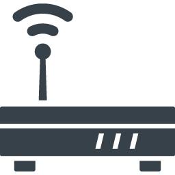 無線のwifiルーターの無料アイコン素材 6 商用可の無料 フリー のアイコン素材をダウンロードできるサイト Icon Rainbow