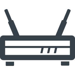 モデム ルーターの無料アイコン素材 5 商用可の無料 フリー のアイコン素材をダウンロードできるサイト Icon Rainbow