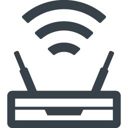 無線のwifiルーターの無料アイコン素材 8 商用可の無料 フリー のアイコン素材をダウンロードできるサイト Icon Rainbow