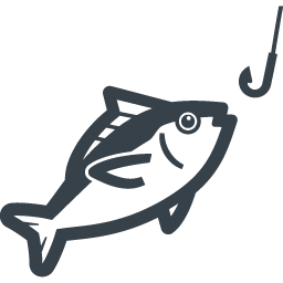 マグロの釣りの無料アイコン素材 商用可の無料 フリー のアイコン素材をダウンロードできるサイト Icon Rainbow