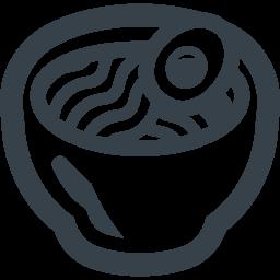 ラーメンの無料アイコン素材 2 商用可の無料 フリー のアイコン素材をダウンロードできるサイト Icon Rainbow