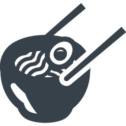 ラーメンの無料アイコン素材 3 商用可の無料 フリー のアイコン素材をダウンロードできるサイト Icon Rainbow