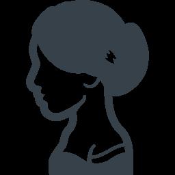 ドレスを着た女性の無料アイコン 商用可の無料 フリー のアイコン素材をダウンロードできるサイト Icon Rainbow