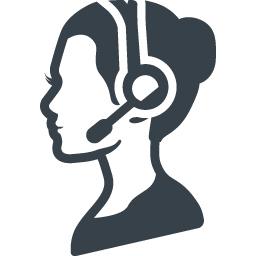 カスタマーセンターの女性の無料アイコン素材 商用可の無料 フリー のアイコン素材をダウンロードできるサイト Icon Rainbow