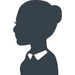 女性の先生のシルエットアイコン素材 商用可の無料 フリー のアイコン素材をダウンロードできるサイト Icon Rainbow