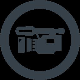 デジタルビデオカメラの無料アイコン素材 3 商用可の無料 フリー のアイコン素材をダウンロードできるサイト Icon Rainbow