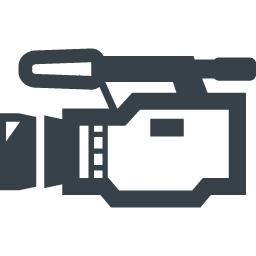 デジタルビデオカメラの無料アイコン素材 2 商用可の無料 フリー のアイコン素材をダウンロードできるサイト Icon Rainbow