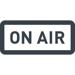 ラジオのon Airの無料アイコン 2 商用可の無料 フリー のアイコン素材をダウンロードできるサイト Icon Rainbow