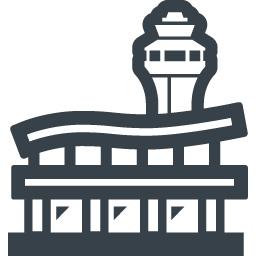 空港の無料アイコン素材 3 商用可の無料 フリー のアイコン素材をダウンロードできるサイト Icon Rainbow