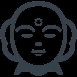 お地蔵さんの顔の無料アイコン素材 2 商用可の無料 フリー のアイコン素材をダウンロードできるサイト Icon Rainbow