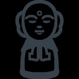 お地蔵さんの無料アイコン素材 商用可の無料 フリー のアイコン素材をダウンロードできるサイト Icon Rainbow