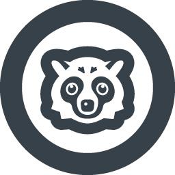 たぬきの無料イラストアイコン素材 2 商用可の無料 フリー のアイコン素材をダウンロードできるサイト Icon Rainbow