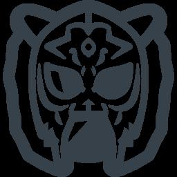 タイガーマスクの無料アイコン素材 2 商用可の無料 フリー のアイコン素材をダウンロードできるサイト Icon Rainbow