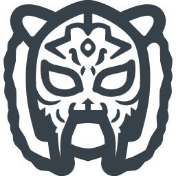 タイガーマスクの無料アイコン素材 3 商用可の無料 フリー のアイコン素材をダウンロードできるサイト Icon Rainbow
