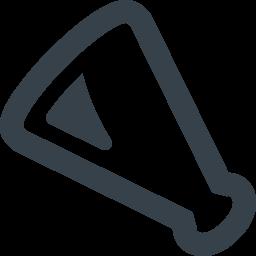 応援メガホンの無料アイコン素材 1 商用可の無料 フリー のアイコン素材をダウンロードできるサイト Icon Rainbow