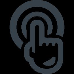 スマホ操作 タップの無料アイコン素材 2 商用可の無料 フリー のアイコン素材をダウンロードできるサイト Icon Rainbow