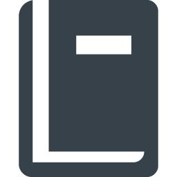 シンプルな本の無料アイコン素材 2 商用可の無料 フリー のアイコン素材をダウンロードできるサイト Icon Rainbow