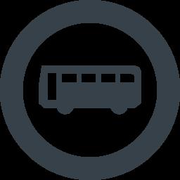 バスのシルエット無料アイコン素材 4 商用可の無料 フリー のアイコン素材をダウンロードできるサイト Icon Rainbow