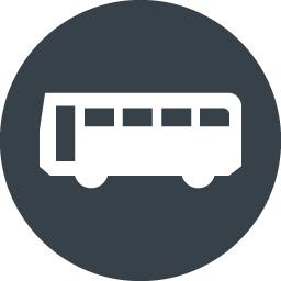 バスのシルエット無料アイコン素材 5 商用可の無料 フリー のアイコン素材をダウンロードできるサイト Icon Rainbow