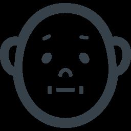 おじいちゃんの顔のフリーアイコン 商用可の無料 フリー のアイコン素材をダウンロードできるサイト Icon Rainbow