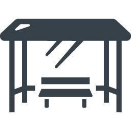 待合所 雨よけの無料アイコン素材 2 商用可の無料 フリー のアイコン素材をダウンロードできるサイト Icon Rainbow