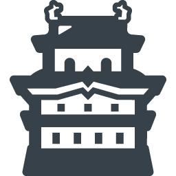 お城の無料アイコン素材 1 商用可の無料 フリー のアイコン素材をダウンロードできるサイト Icon Rainbow