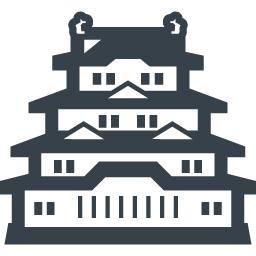 お城の無料アイコン素材 3 商用可の無料 フリー のアイコン素材をダウンロードできるサイト Icon Rainbow