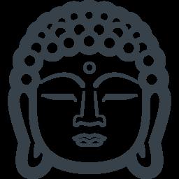 大仏のお顔の無料アイコン素材 1 商用可の無料 フリー のアイコン素材をダウンロードできるサイト Icon Rainbow