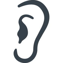 耳の無料アイコン素材 3 商用可の無料 フリー のアイコン素材をダウンロードできるサイト Icon Rainbow