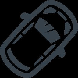 上から見た車の無料アイコン素材 1 商用可の無料 フリー のアイコン素材をダウンロードできるサイト Icon Rainbow