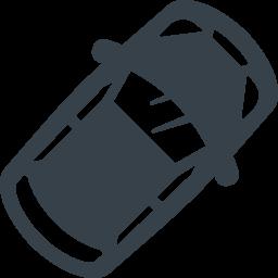 上から見た車の無料アイコン素材 2 商用可の無料 フリー のアイコン素材をダウンロードできるサイト Icon Rainbow