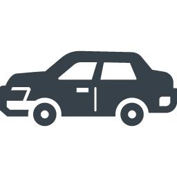 横向きの自動車のフリーアイコン 2 商用可の無料 フリー のアイコン素材をダウンロードできるサイト Icon Rainbow
