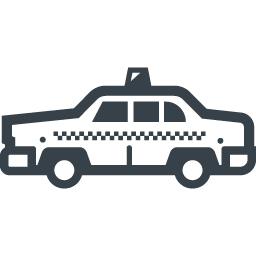 海外風のタクシーの無料アイコン素材 商用可の無料 フリー のアイコン素材をダウンロードできるサイト Icon Rainbow