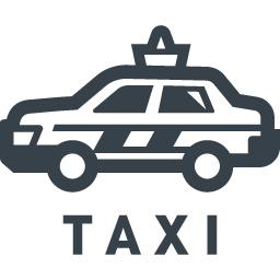 タクシーの無料アイコン素材 4 商用可の無料 フリー のアイコン素材をダウンロードできるサイト Icon Rainbow