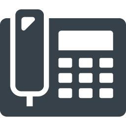 電話機 親機 の無料アイコン素材 1 商用可の無料 フリー のアイコン素材をダウンロードできるサイト Icon Rainbow