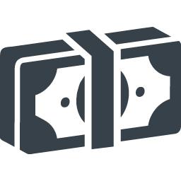 札束の無料アイコン素材 2 商用可の無料 フリー のアイコン素材をダウンロードできるサイト Icon Rainbow