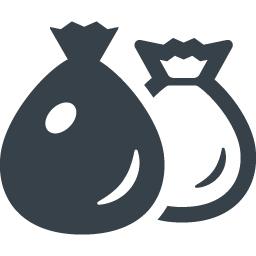 ゴミ袋の無料アイコン素材 5 商用可の無料 フリー のアイコン素材をダウンロードできるサイト Icon Rainbow