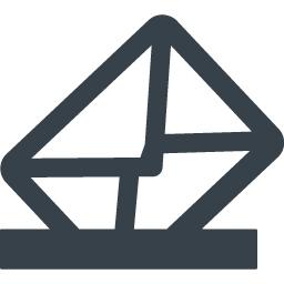 メールの投函の無料アイコン素材 商用可の無料 フリー のアイコン素材をダウンロードできるサイト Icon Rainbow