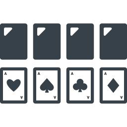 トランプゲームの無料アイコン素材 1 商用可の無料 フリー のアイコン素材をダウンロードできるサイト Icon Rainbow