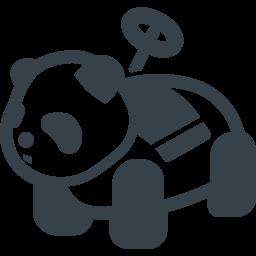 遊園地のパンダの乗り物無料アイコン 2 商用可の無料 フリー のアイコン素材をダウンロードできるサイト Icon Rainbow