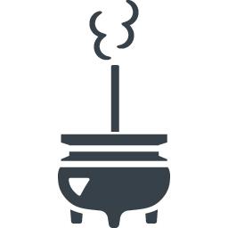お線香と香炉の無料アイコン素材 1 商用可の無料 フリー のアイコン素材をダウンロードできるサイト Icon Rainbow