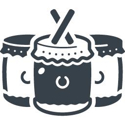 和太鼓の無料アイコン素材 2 商用可の無料 フリー のアイコン素材をダウンロードできるサイト Icon Rainbow