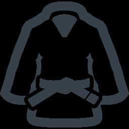 柔道着の無料アイコン素材 1 商用可の無料 フリー のアイコン素材をダウンロードできるサイト Icon Rainbow