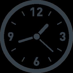 時計の無料アイコン素材 7 商用可の無料 フリー のアイコン素材をダウンロードできるサイト Icon Rainbow