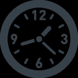 時計の無料アイコン素材 8 商用可の無料 フリー のアイコン素材をダウンロードできるサイト Icon Rainbow
