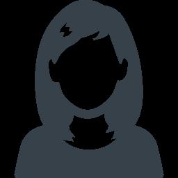 ロングヘアーの女の人の無料アイコン素材 1 商用可の無料 フリー のアイコン素材をダウンロードできるサイト Icon Rainbow